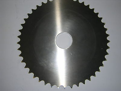 Blank Rear Sprocket 44T 520 Dural With 40mm Hole. New*