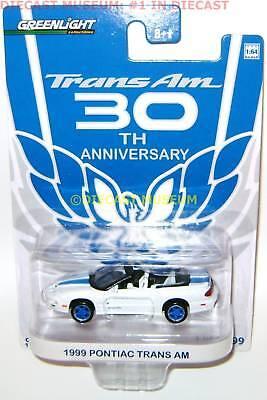 1999 Pontiac Firebird Trans Am 30th Conv. White 2010