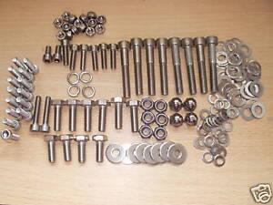 Ducati 600 Monster M600 750 900 RESTORATION KITS  STAINLESS STEEL bolts SCREWS