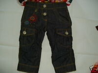 Catimini Spirit Denim 3/4 Jeans Size 8a - markenlos - ebay.co.uk
