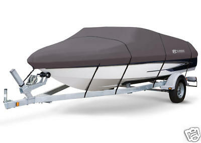 StormPro Boat Cover 14' to 16' L (beam width 75') V-Hull Fishing Boats