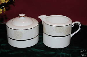 Royal-Doulton-Enchantment-Sugar-Bowl-Creamer-NEW-1stQ