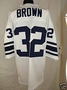 College Away Variant All American Jim Brown Syracuse ...