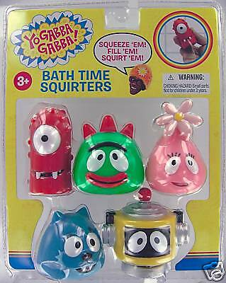 Yo Gabba Gabba Bath Toys 8