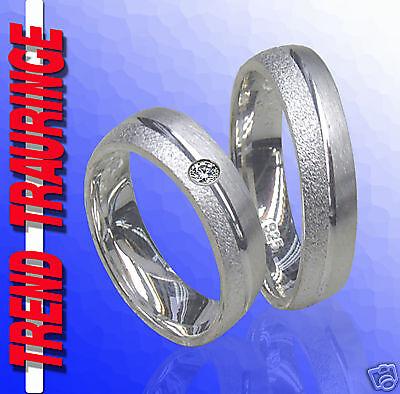 2 RINGE Trauringe  Silber 925 & Gravur Gratis , Verlobungsringe Eheringe * T12-1