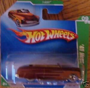 2009-Hot-Wheels-Treasure-Hunt-49-Merc-9-12-9-New-MOC