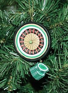 Gambling-Las-Vegas-Roulette-Wheel-Christmas-Ornament