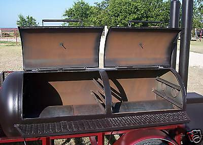 how to build a bbq smoker trailer plans
