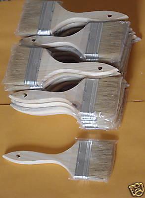"432  Natural China Bristle 3"" Chip Brush Paint Stain"