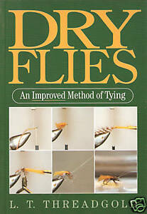 THREADGOLD-FISHING-BOOK-DRY-FLIES-IMPROVED-METHOD-TYING