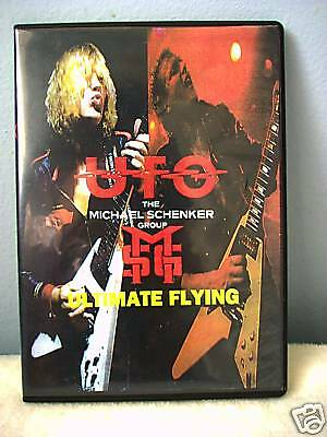 MSG 1981 Germany & UFO 1975 UK Live DVD Schenker USED