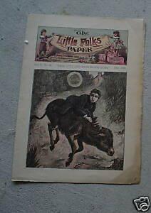 June 1890 Booklet The Little Folks Paper LOOK