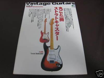 Vintage Guitars Fender Stratocaster Japan Book Clapton