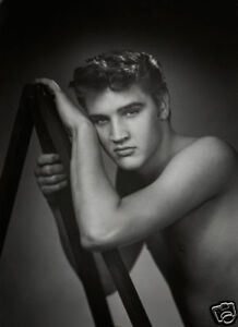 Elvis-Presley-Shirtless-Early-10x8-Photo
