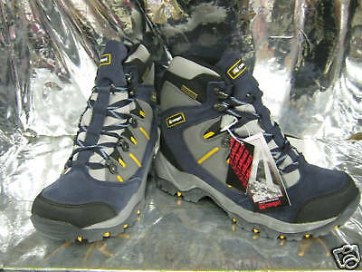 Ladies Campri Lille Navy Suede Leather Hiking Boots