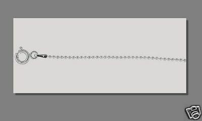 10 pcs Sterling Silver 24 inch Ball Chains Necklaces HQ