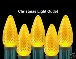 25-C7-Yellow-RETRO-FIT-LED-Christmas-House-Light-BULBS