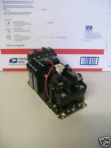 Allen Bradley 509 Aoxd Motor Starter With Heater Size 0 Ebay