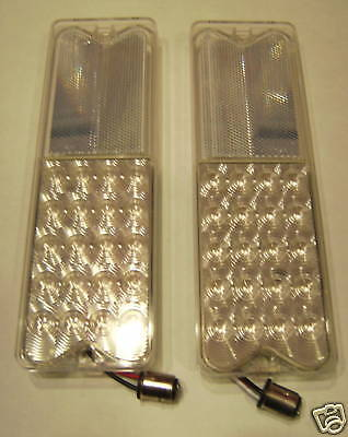 1967-1972 Chevrolet Pickup CLEAR LED Tail Lights 1-Pr.