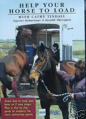 New Equine Behaviour DVD new/sealed HELP YOUR HORSE TO LOAD Cathy Tindall