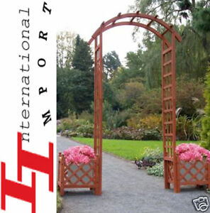 portail portique barri re de jardin porte pavillon new ebay. Black Bedroom Furniture Sets. Home Design Ideas