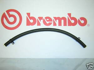 Front-Reservoir-Brembo-Brake-Fluid-Hose-Complete-with-Clips-New