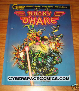 Bucky-O-039-Hare-Hardcover-LARRY-HAMA-signed-amp-numbered