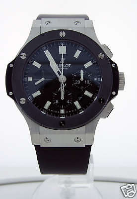 Hublot Big Bang Stainless Ceramic Evolution Watch 301.SM.1770.RX 44mm