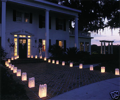 10-Stars-Candle-Paper-Bag-Lite-Lantern-BBQ-Garden-Party