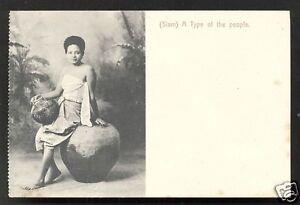 Girl-BEAUTY-Pot-Jar-Siam-Thailand-ca-1899