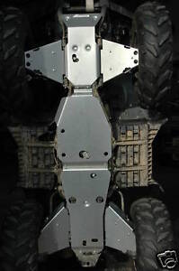 YAMAHA-GRIZZLY-KODIAK-450-04-10-SKID-PLATES-GUARDS-FRAME-ENGINE-PROTECTION