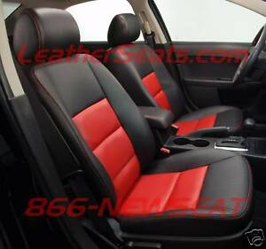 2006 2008 ford fusion leather seat covers custom interior upholstery new ebay. Black Bedroom Furniture Sets. Home Design Ideas