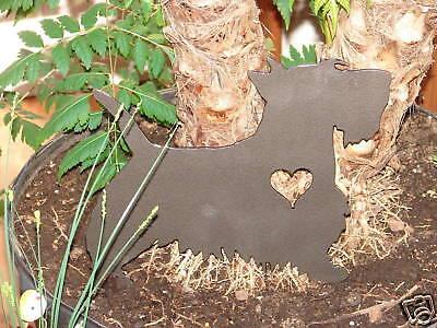 Scottish Terrier Pet Dog Memorial Garden Stake Lawn K9