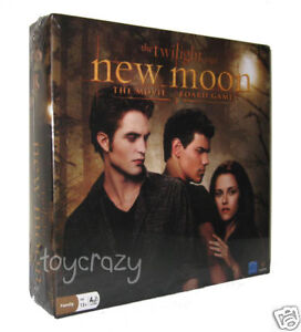 The Twilight Saga: New Moon The Movie Board Game