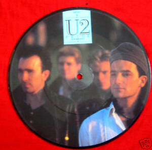 U2 - Pride (In The Name Of Love) - Rare UK 7