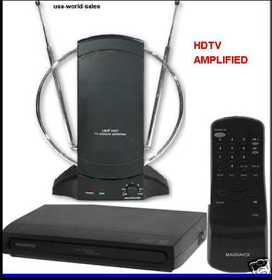 RCA Digital To Analog Tv Converter Box W/remote+amlified ...
