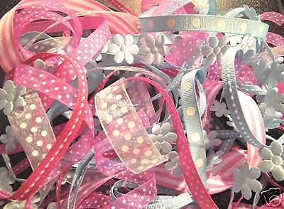 """""""Sweetie Pie""""  Ribbon set  8 yards!  ($2.86 shipping for up to 4 sets)"""