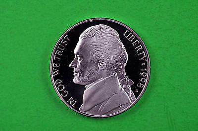 1988-S DEEP CAMEO JEFFERSON NICKEL US GEM PROOF COIN