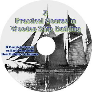A Practical Course in Wooden Boat and Ship Building CD