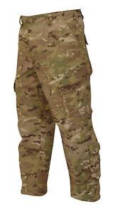 MULTICAM-Camo-Poly-Cotton-TAC-RESPONSE-UNIFORM-Pants-SMALL-REGULAR-NEW