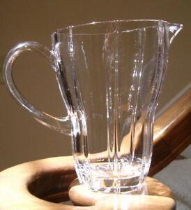 Villeroy boch crystal pitcher signed ebay for Villeroy boch crystal