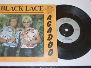 BLACK-LACE-Agadoo-1984-Flair-7-034-Vinyl-single