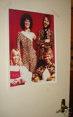 ABBA Colour Door Poster #1 Red