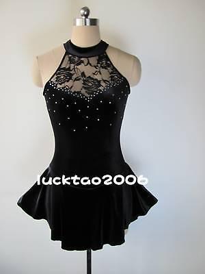 Другое Gorgeous Figure Skating Dress Ice Skating Dress #6502