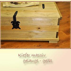 truhentisch 110x72 couchtisch tisch truhe kiefer massiv antik gelaugt 8241052 ebay. Black Bedroom Furniture Sets. Home Design Ideas