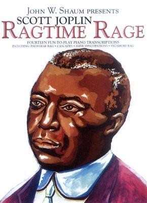 Scott Joplin Ragtime Rage Noten für Klavier leicht