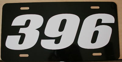396 Engine Size License Plate Chevy Chevelle Ss Nova