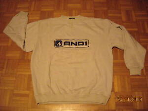 SWEAT-SHIRT-BEIGE-TAILLE-L-MARQUE-AND1-NEUF