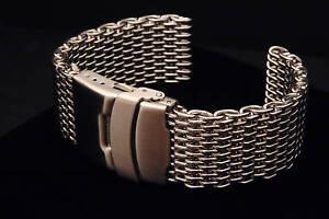 24mm-SHARK-MESH-BRACELET-fits-24mm-or-23mm-lug-width-watches