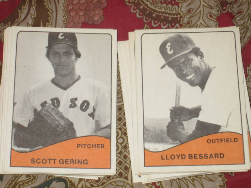 1979 Elmira Pioneers (Red Sox Class A) set of 28  cards